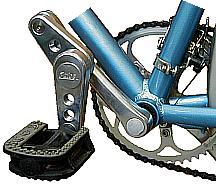 swing crank fitted on bike